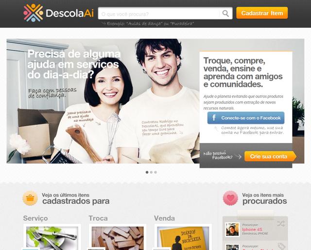 DescolaAí – troca e venda de produtos e serviços