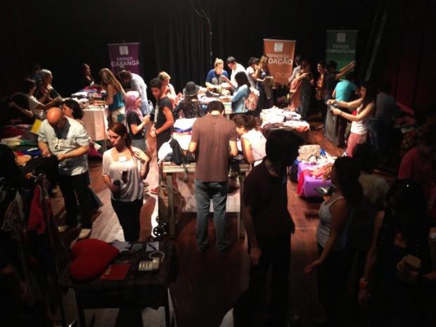 Cineclube em SP realiza feira de trocas mensalmente