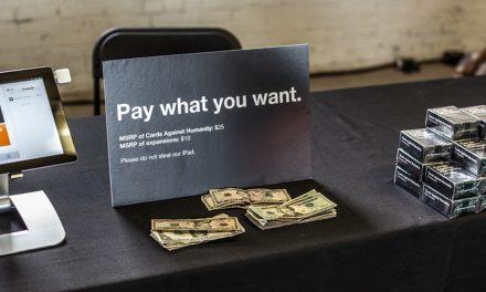 E se você pudesse pagar o quanto quisesse nas suas compras?
