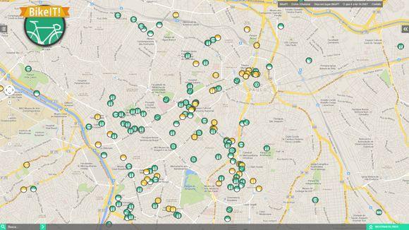 Site Colaborativo estimula boa relação entre o ciclista e a sua cidade
