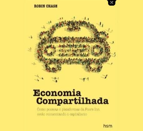 Lançamento | Livro: Economia Compartilhada – Robin Chase Faça o download do primeiro capítulo!
