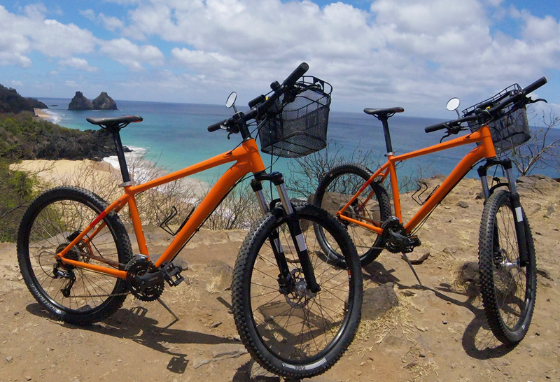 Fernando de Noronha tem empréstimo de bike